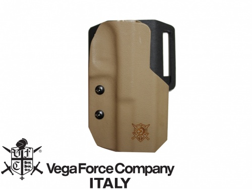 FONDINA KIDEX GLOCK 17 COYOTE RIGHT