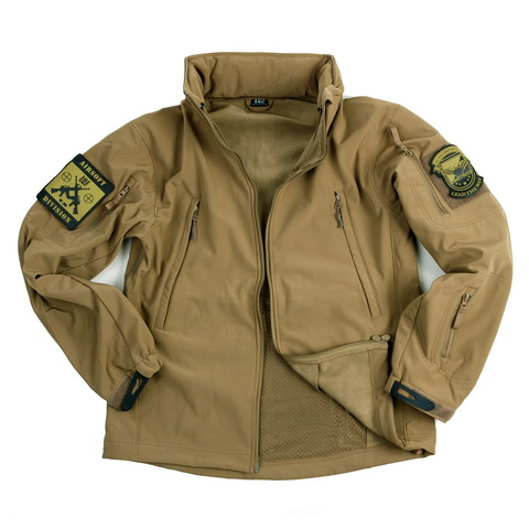 SOFT SHELL JACKET COYOTE