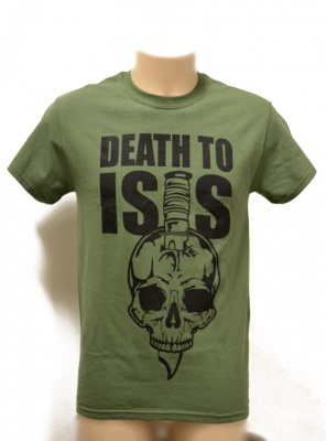 T-SHIRT  DEATH TO ISIS