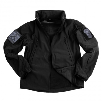 SOFT SHELL JACKET NERA 4 STAGIONI