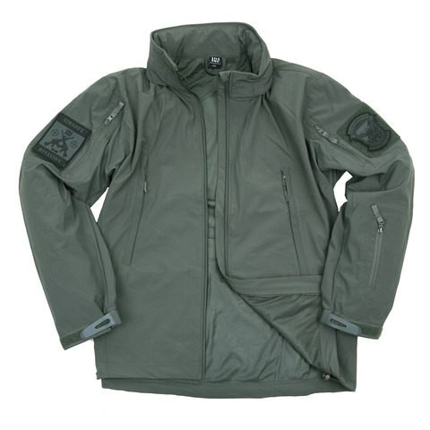 SOFT SHELL JACKET VERDE 4 STAGIONI