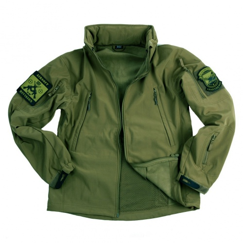 SOFT SHELL JACKET VERDE